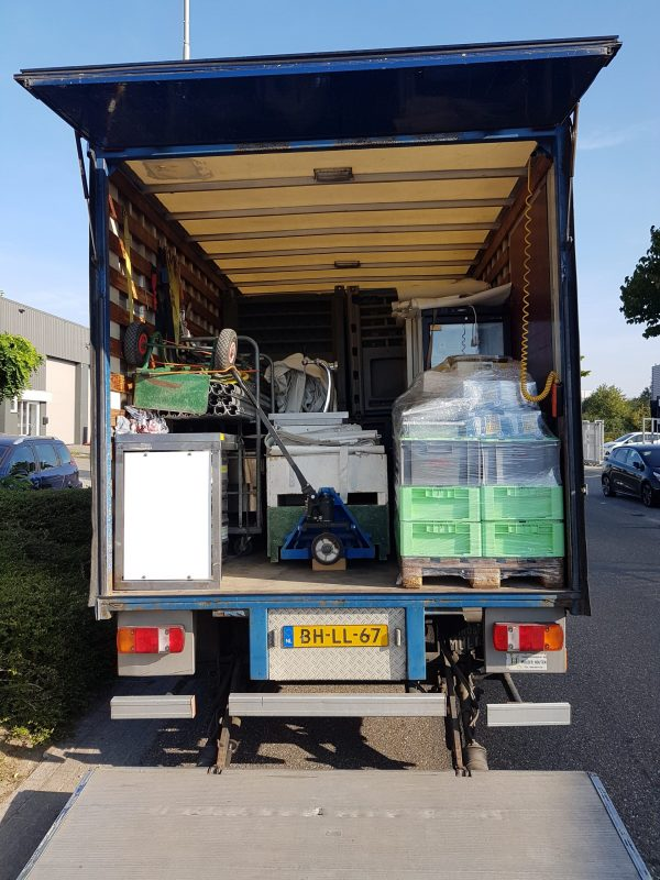 transport verhuizen