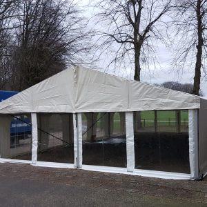 Art. 00705 Aluhal tent  8 x 35 meter