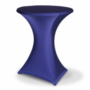 Art. 00906 statafelrok stretch blauw