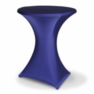 Art. 00906 statafelrok stretch blauw